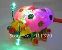 Best selling!!  Large beetles Prince  electronic lanterns  flash music lanterns toy  Free shipping,1 pcs