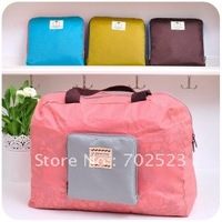 Wholesale - Multi-functional zipper storage bag Shopping the package collapsible shoulder waterproof travel bag