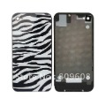 NEW zebra Glass Back Cover Housing replacement Assembly For Apple iPhone 4S A227