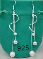 Fashion Jewelry 925 Silver Earrings Jewelry FE021 A U