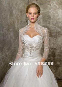 free shipping  wholesale  Beautiful    Wedding Bolero Jacket  Shrug one's shoulders