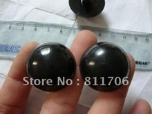 free shipping wholesale 18 100pcs lot safety 28mm full Black toy bear eyes with washer toy