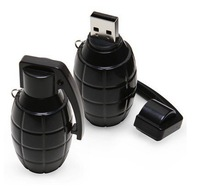hot sale  10pcs/lot free shipping  grenade style   8GB 16GB 32GB  USB flash drive , usb disk , usb memory