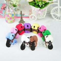 Free shipping(50pcs/lot), Pure cotton cake towels, Lovely mini dog towels, Candy towels, Wedding/Valentine's day gift, LG007(China (Mainland))