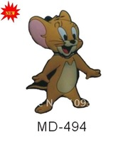 Free shipping --New 1,2,4,8,16,32,64GB  USB 2.0 Flash Memory Disk Drive  MD-494  Tom and Jerry  Jerry