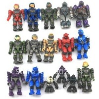 LOT 16 pcs Halo Mega Bloks UNSC  Spartan Copper Brute Marine