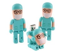Doctor model USB 2.0 Flash Memory Pen Drive Stick 2GB 4GB 8GB 16GB 32GB LU009