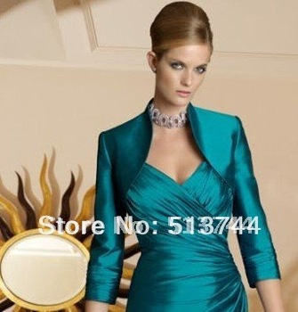 free shipping  Beautiful  Charming attractive   3/4 sleeve  wedding bolero jacket