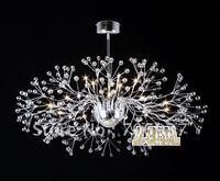 free shipping New modern crystal chandelier light Living Room light dining hall light with Name Brand 15 lights 100cm diamater