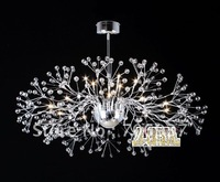 free shipping New modern crystal chandelier light Living Room light dining hall light with Name Brand 15 lights 100cm diamater