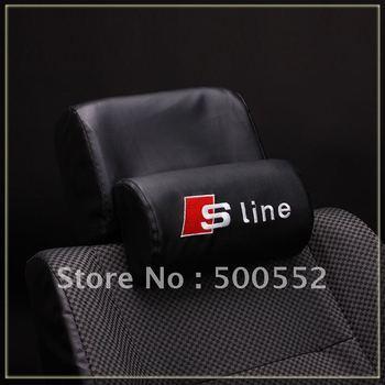 Car headrest  headrest a4 l a6l a5 q5 q7 refires sline pillow neck pillow (2pcs=1set)