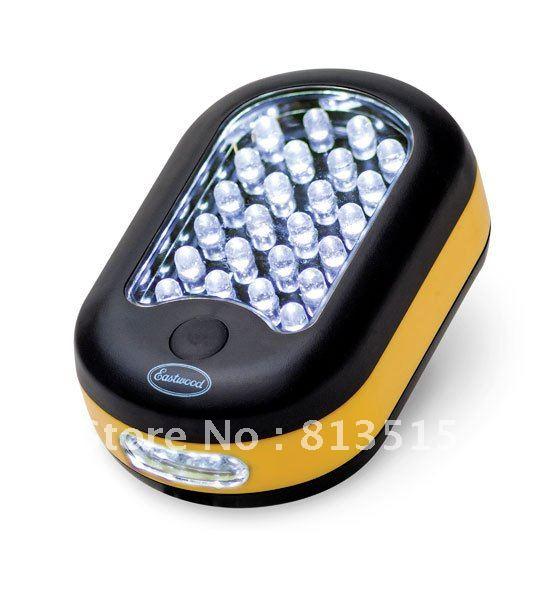 24 3led cordless magnetic work light hanging hook flashlight great for. Black Bedroom Furniture Sets. Home Design Ideas