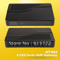 Hot sale!8 FXS ports VOIP Gateway ATA SIP H.323 HT-882