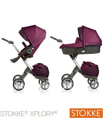 Whole and Retail Buy Purple Stokke Xplory Stroller,Stokke Prams to enjoy more discount free shipping(China (Mainland))