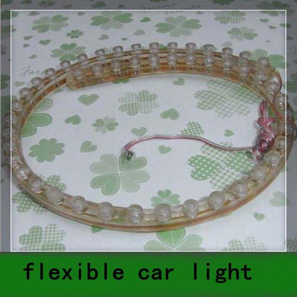 10PCS 48 LED Red Flexible Strip Waterproof Car Light Bulb(China (Mainland))
