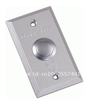 Free Shipping,exit button for Access control ,aluminium alloy door release ,Dim: 86Lx50Wx20H(mm) 10pcs/lot, Wholesale,min:1lot