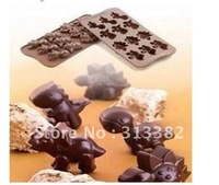 Wholesale Dinosaur Shape  Ice Cube Tray  Animals Ice Mold Free Shipping