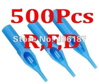 500Pcs R,F,D   Pro Assorted Lots Disposable Tattoo Tips Mixed Size For Needle Grips&Tubes