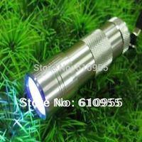 12pcs 395nm UV LED Flashlight (3xAAA)