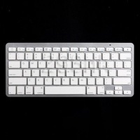 WIRELESS KEYBOARD BLUETOOTH FOR APPLE IPAD IPAD 2 IPHONE iMac PC  FREE SHIPPING