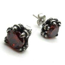 wholesale red dragon earrings