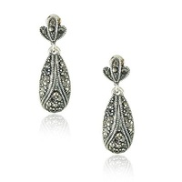 New Classic Design Earring Studs/Antique Silver Color Earrings 10Pairs/Lot Free Shipping