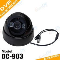 new version DC-903 remote control Day/Night 7daysx24hrs digital Video Recorder CCTV  Camera DVR with AV-OUT