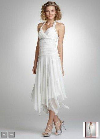 Stunning Handkerchief Hem Wedding Dress Photos - Styles & Ideas 2018 ...
