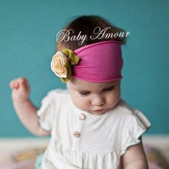 baby wide headbands wholesale 10pcs/lot infant headwear