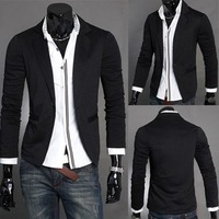 2014 Men hoodies clothing New men's casual slim fit knitted suit men's jacket supreme style skirt ymcmb sweatshirt