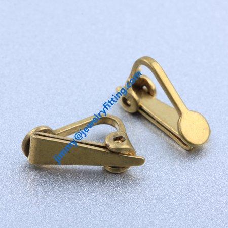 Earring findings clips