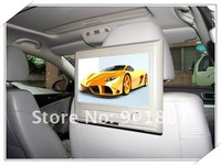 2012 HOT Easy Installaion For all Cars tablet dvd headrest black 9 DTV AV IN OUT support 720P SD USB play 32 bit Native Games