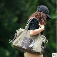Air bag 2012 new female bag shoulder bag oblique satchel travel canvas bag han tide restoring ancient ways bag