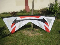 """Hot 94"""" Quad Line Kite Carbon Rod,send free gift package Sport Experience LK012"""