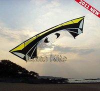 "Huge 110"" Quad Line Kite Carbon rod Kite Sport Kite send free gift package,fast shipping"