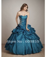 2013 Fast delivery customized  sweetheart strapess ball gown   elegant ball gown quinceanera dresses