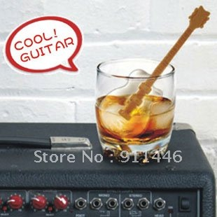 Silicone Guitar Shaped Ice Cubes Trays Maker(China (Mainland))