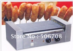 hot sale 5 rod hot dog machine / hot dog maker Good Quality Fast Shipping /hot dog cooker(China (Mainland))