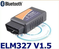 Free Shipping! ELM327 Bluetooth OBDII V1.5 CAN-BUS Diagnostic Interface Scanner obd 2,Elm 327 Bluetooth Car Scan Tool
