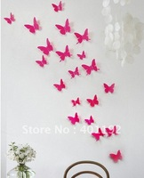 14 pcs DIY 3D Wall Sticker butterfly Home Decor Room Decorations Decals