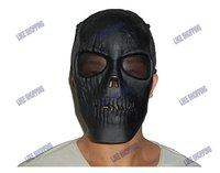 Tactical Full Face Skeleton Skull   Mask/ Protective Safe Mask black free ship