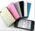 Case For iPhone 4S Cell Phone Case for iPhone 4 Fashion Luxury Design Back Designer Cover and Leather