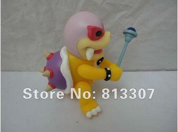 Wholesale  10pcs Super Mario Figure 4inch 10cm Roy Koopa  pvc toy doll baby figures