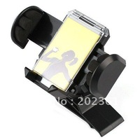 100pcs/lots Universal In-Car Sun Visor Mount clip Stand Holder for iPhone 4G PDA PSP GPS MP3