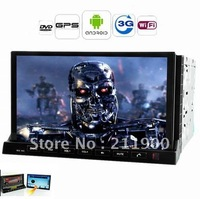 2 DIN Android Car DVD with Detachable Android 4.0 Tablet, GPS Navigation, 3G, Wifi, Bluetooth and DVB-T Digital TV