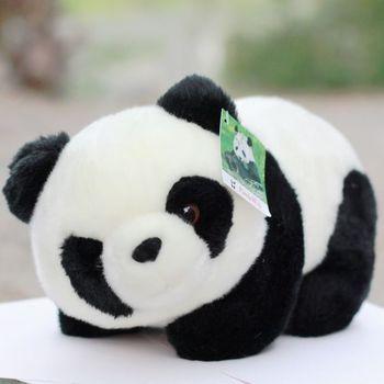 Big discount Plush toy gift doll pandaway giant panda doll tendrils Promotional big sales