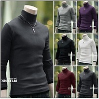Мужская футболка High Quality New Brand Mens Polo shirts Slim Fit Stylish Long Sleeve Casual Thicken Men's T-Shirts Tops&Tees, DXZ26