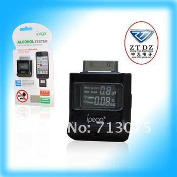 Free Shipping!!! PG-IH150 breathalizer for iphone 4s / iphone4 / ipad / ipod  IPEGA