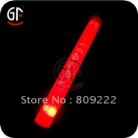 Red Foam Light Up Glow Sticks, Carnival Cheer Props,CE & RoHS Approval,Factory Price Supply!
