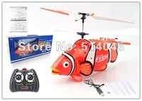 New Arrival Free Shipping 3C infra-red control helicopter, clownfish helicopter,Automatic demonstration SY-051